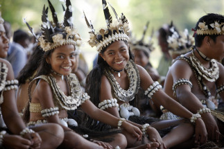 Fiji Culture --  Micronesians at Rabi Island